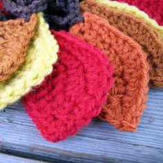 Fall Leaf Crochet