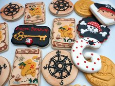 Pirate Cookies by Sweet Tweets