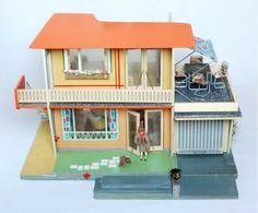 "Miniaturas para casa de muñecas. Casa de muñecas ""Kathrin Dollhouse"", 1962."