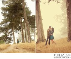 Lillian and Eric took us to Lands End for their engagement sessions, and it was the first time we had really been to the north end of the trail. It was foggy that day, which made for the perfect San Francisco look in all the trees on and on the trail! After we did a few pics there, we headed over to…
