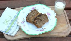 Vegan Banana Tea Bread! with spelt flour & raw coconut oil.  recipe here: http://alicewonderland2.blogspot.co.uk/2014/04/oh-my-love-i-am-your-candy-baking-girl0.html