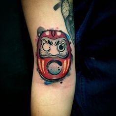 Daruma Tattoo By Juan David Castro R