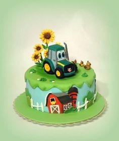 Resultado de imagen de tractor cake