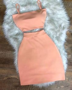 Two piece simple homecoming dress Source by outfits elegant Girls Fashion Clothes, Teen Fashion Outfits, Swag Outfits, Girly Outfits, Mode Outfits, Cute Casual Outfits, Pretty Outfits, Stylish Outfits, Dress Outfits