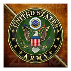 US Army Emblem Poster
