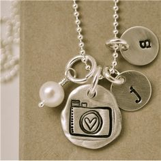 """Through My Lens"" necklace from Lisa Leonard Designs. Mother's day gift from my family. :)"