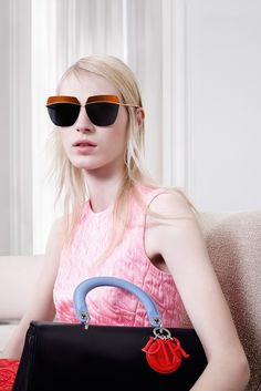Dior Features Sitting Ladies for Fall 2014 Campaign