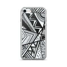 black and white iPhone 7/7 Plus Case - $455.00 USD