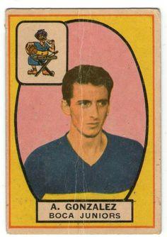 A. Gonzalez - Boca Jrs #66   1966