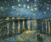 [별이 빛나는 밤:고흐]  해제: 빈센트 반 고흐의 대표적인 작품 중 하나이다. 고흐는 밤하늘을 무한함의 모티브로 삼았다. 밤하늘과 거기에 떠 있는 풍경을 거친 붓질을 통해 율동감을 표현한 반면 아래 시냇물은 부드러운 터치를 사용해 잔잔한 느낌을 주어 대비시켰다.  감상: 까만 밤하늘과 그 속에 콕 박혀 반짝 반짝 빛나는 별들은 무한함 속의 아름다움을 가르쳐준다. 무한함 속의 아름다움은 항상 유한에 갇혀 틀에 박힌 우리에게 적신호를 울리는 듯 하다. 더욱 발전하라고…
