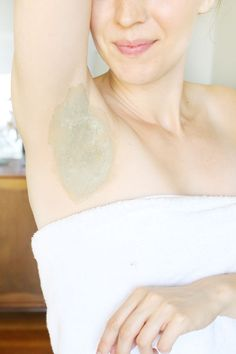 DIY: armpit detox mask (+ how to switch to natural deodorant)
