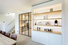 Living Room Built Ins, Home Living Room, Home Room Design, Living Room Designs, House Extension Design, Love Your Home, Home Office Decor, Home Decor, Built In Shelves