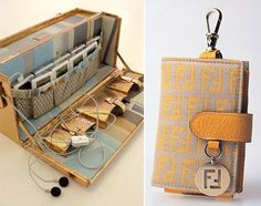 Fendi iPod trunk case for Karl Lagerfeld