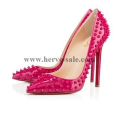 Christian Louboutin Pigalle Spikes 120 mm Pumps Grenadine CW20131161