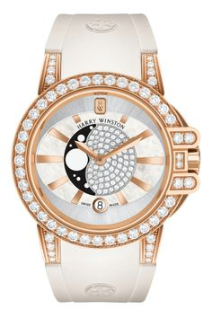 The Ocean Moon Phase, a modern blend of sport and sophistication by Harry Winston