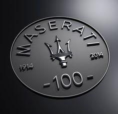 Maserati celebrated its100th year in AD 2014.