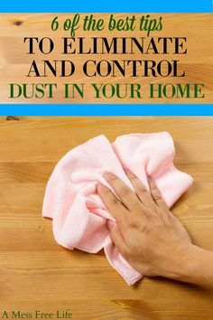 2055 best Cleaning 101 images on Pinterest   House cleaning tips     How To Control Dust In Your Home