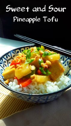 A quick and easy meal for weeknights. This sweet and sour tofu hits all the right notes: sweet, tangy, crunchy, and fresh!