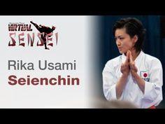 WKF World Karate Championships France 2012 - Paris Bercy, November. Kata Seienchin by Rika Usami (Japan). She placed © 2012 Virtual Sensei 糸東. Shito Ryu Karate, Shotokan Karate Kata, Goju Ryu, Martial Arts Techniques, Karate Girl, Self, Knowledge, Samurai, Train
