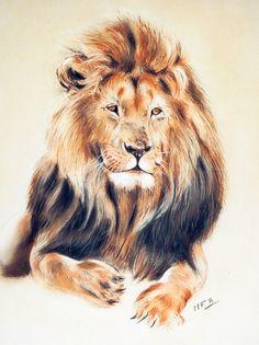Artwork >> Marie-France Berthollet >> the lion