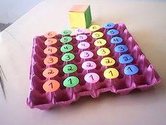 Matemática na Educação Infantil: EXEMPLOS DE JOGOS MATEMÁTICOS
