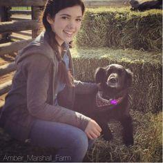 Alisha with Amber's dog China #season9