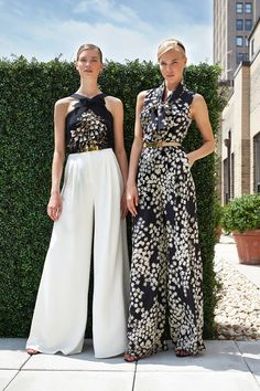 Carolina Herrera 2014 Outfit elegant Great Resort/Corporate Retreat Pieces | wide leg printed pants | palazzo pants