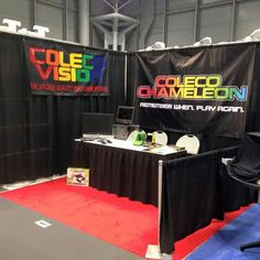 Coleco booth at Toy Fair 2016 #gaming #gamer #coleco #arcade #oldschool