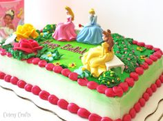 Disney Princess Birthday Cake #DreamParty #shop