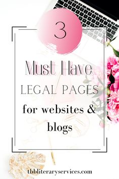 3 Legal Pages Your Blog Needs Today. Discover the three essential legal pages you need to legally protect your blog. Protect your blog from lawsuits today by adding these three essential legal pages. #blogging #blogginglegally #legaltips #blogger How To Protect Yourself, 3 Things, Blogging, Website, Learning, Business, Book, Tips, Studying