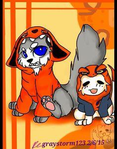 Kurama & Naruto