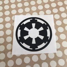 Star Wars Galactic Empire Decal | Star Wars Decal | Star Wars Decor | Star Wars Vinyl Silhouette | Star Wars car Decal | Nerdy Decals | 241