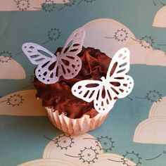 Edible Butterflies - White Lace 15 - Cake & Cupcake toppers - Food Accessories