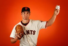 Pitcher Javier Lopez #49 of the San Francisco Giants poses for a portrait during spring training photo day at Scottsdale Stadium on February 27, 2015 in Scottsdale, Arizona. (February 26, 2015 - Source: Christian Petersen/Getty Images North America)