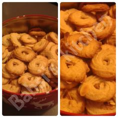 SPEKULATIUSSPRITZGEBÄCK Rezept: http://babsiskitchen-foodblog.blogspot.de/2015/12/spekulatiusspritzgeback.html