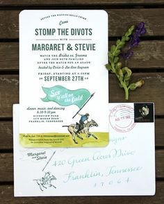 stompin' the divots polo party - by Tenn Hens