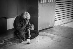 the lonely beggar