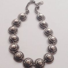 A personal favorite from my Etsy shop https://www.etsy.com/listing/228985841/vintage-silver-choker-necklace-spanish