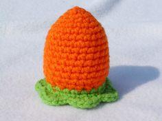 carrot egg cozy