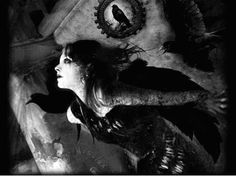 girl with crow - Google Search
