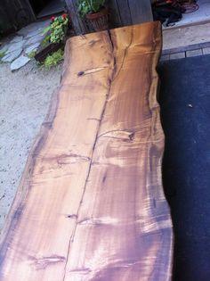 myrtle wood bar top