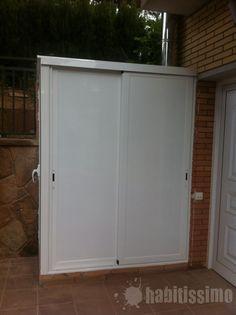 diseo para ocultar lavadoras armarios aluminio