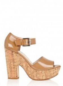 Cork shoe sandals by Michael Michael Kors.