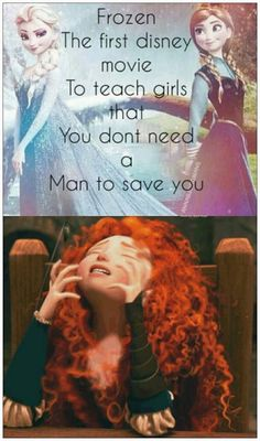 It's not just them, there's Merida, and Mulan and Cinderella and Rapunzel and Belle and Tiana and Pocahontas.