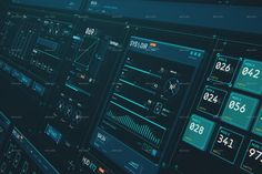 HUD Futuristic Interface Sci Fi UI Elements by on Envato Elements Technology World, Futuristic Technology, Futuristic Design, Technology Design, Digital Technology, Technology Gadgets, Business Technology, Tech Gadgets, Interface Design
