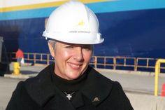 Denise Verreault, Présidente et chef de la direction du Groupe Maritime Verreault et de Verreault Navigation