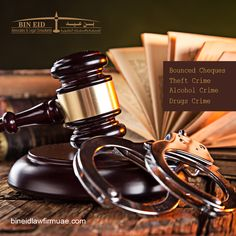 Bounced Cheques, Theft Crime, Alcohol Crime, Drugs Crime or any other crime, our criminal defense lawyers can defend your case and negotiate a favorable disposition. https://bineidlawfirmuae.com/legal-services/criminal-law/ #criminallawyer #bouncedcheque #dubailawyers #uaelawyers #dubailawfirm #bineidadvocates #bineidlawfirm