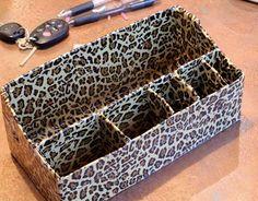 DIY Purse Organizer Using Duct Tape - No Sew