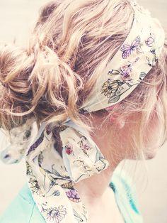 18b25d9f28f Lillian Headband No Sew Pattern Summer Hairstyles