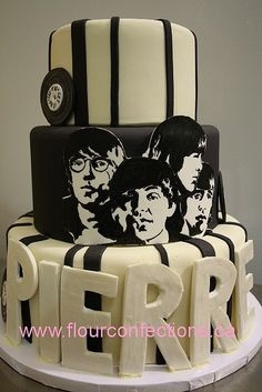Beatles Lover Cake